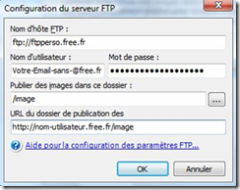 configuration FTP Free