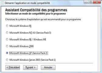 assistant compatibilite